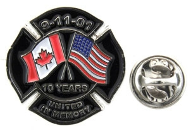 9/11 Commemorative Lapel Pin